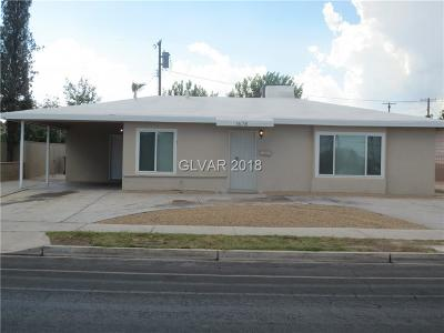 North Las Vegas Single Family Home Under Contract - No Show: 1678 D Street
