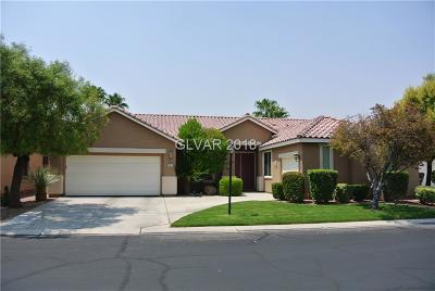 Las Vegas Single Family Home For Sale: 8601 Spotted Fawn Court