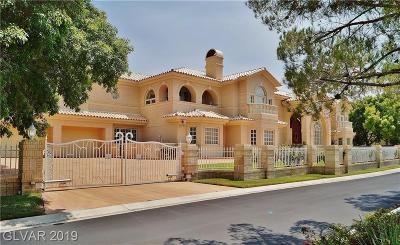 Las Vegas Single Family Home For Sale: 56 Gulf Stream Court