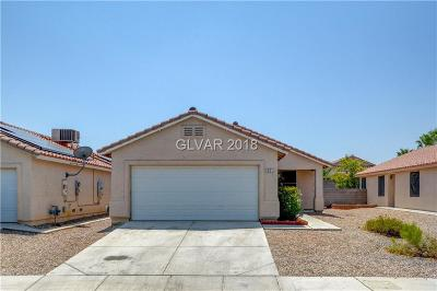 North Las Vegas Single Family Home Under Contract - No Show: 621 Roberta Alecia Avenue