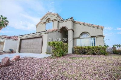 North Las Vegas Single Family Home Under Contract - Show: 4108 Glass Lantern Drive