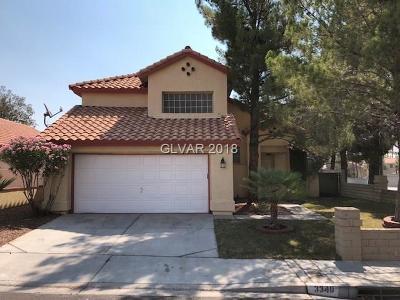 Las Vegas  Single Family Home For Sale: 3340 Surfline Drive
