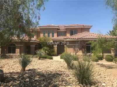 Las Vegas Single Family Home For Sale: 8792 Beckett Ridge Avenue