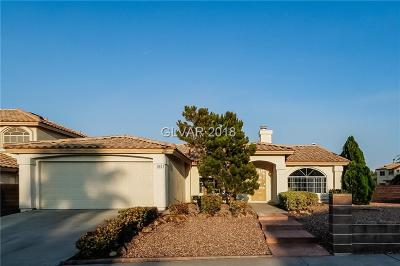 Henderson NV Single Family Home Under Contract - No Show: $309,000