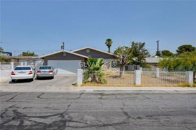 North Las Vegas Single Family Home Under Contract - No Show: 1871 Renada Circle