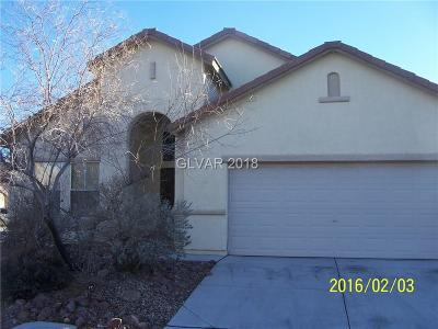 North Las Vegas Single Family Home For Sale: 3635 Prairie Orchid Avenue