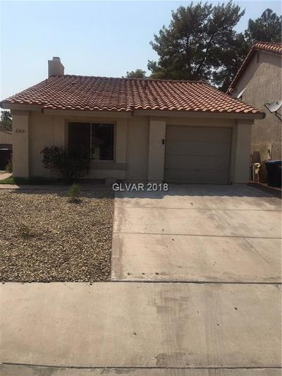 Henderson Single Family Home Under Contract - No Show: 363 Tierra Street