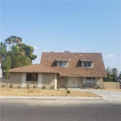 Las Vegas Single Family Home For Sale: 3006 Carruth Street