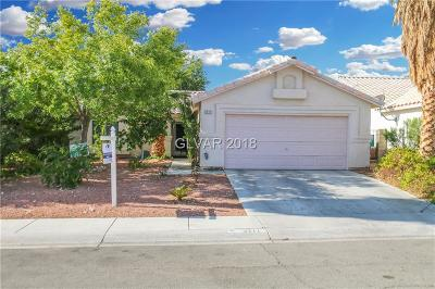 North Las Vegas Single Family Home For Sale: 3211 Lone Canyon Court
