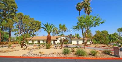 Las Vegas Single Family Home For Sale: 2892 Vista Del Sol Avenue