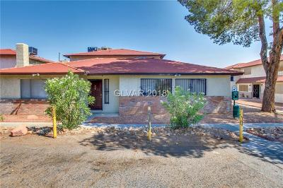 Las Vegas Multi Family Home For Sale: 5272 Maryland