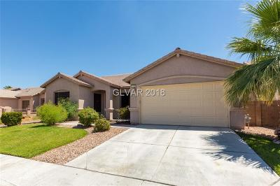North Las Vegas Single Family Home Under Contract - No Show: 1111 Stoneypeak Avenue