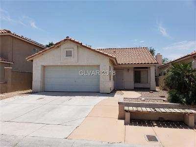 North Las Vegas Single Family Home Under Contract - No Show: 1809 Casa Verde Drive