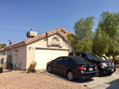 North Las Vegas Single Family Home For Sale: 4016 Mill Point Circle