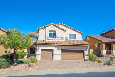 Henderson Single Family Home Under Contract - No Show: 256 Pastel Cloud Street