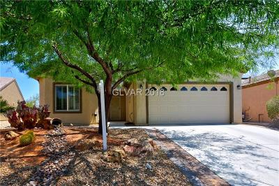 North Las Vegas Single Family Home Under Contract - No Show: 2052 Bay Thrush Way