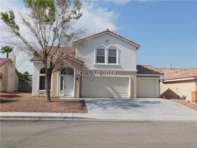 North Las Vegas Single Family Home Under Contract - Show: 3114 Saleen Court