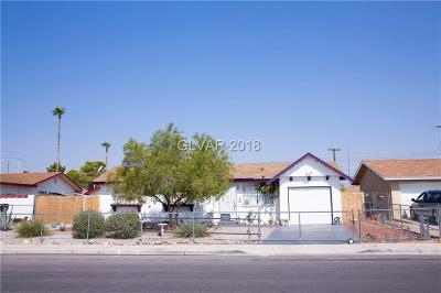 North Las Vegas Single Family Home For Sale: 2523 West Street