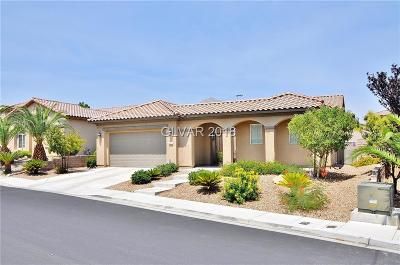 Las Vegas Single Family Home Under Contract - No Show: 911 Serena Veneda Lane