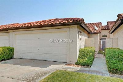 Boulder City Condo/Townhouse For Sale: 452 Intrepid Court