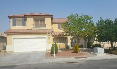 North Las Vegas Single Family Home For Sale: 5644 Deer Run Court