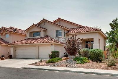 Las Vegas Single Family Home For Sale: 1913 Sedona Paseo Lane