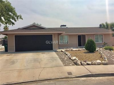 Boulder City Single Family Home For Sale: 1330 Mustang Road