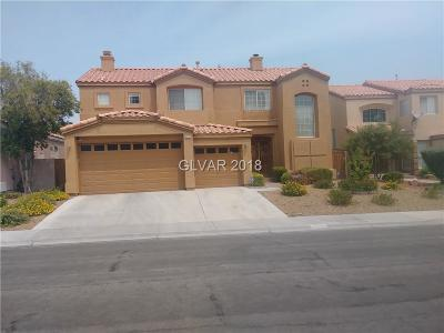 Las Vegas Single Family Home For Sale: 8436 Bay Crest Drive