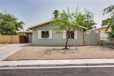 Las Vegas Single Family Home Under Contract - Show: 4753 Fairfax Avenue