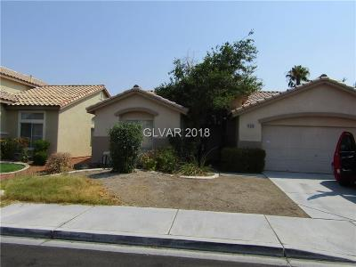 Las Vegas Single Family Home For Sale: 5209 Autumn Meadow Avenue