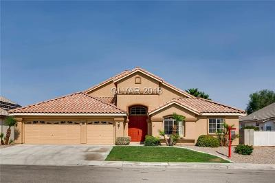 Las Vegas Single Family Home Under Contract - Show: 5520 Kings Row Court