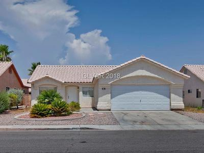 North Las Vegas NV Single Family Home For Sale: $235,000