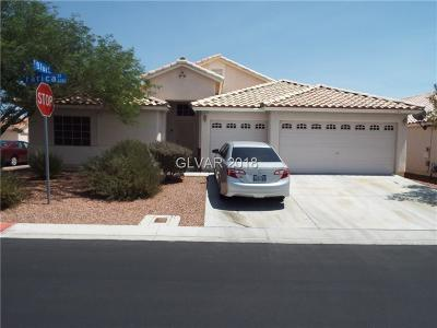 North Las Vegas NV Single Family Home Under Contract - No Show: $276,000