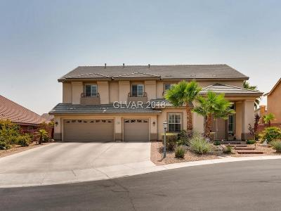 Las Vegas Single Family Home For Sale: 4789 Luna Ridge Court