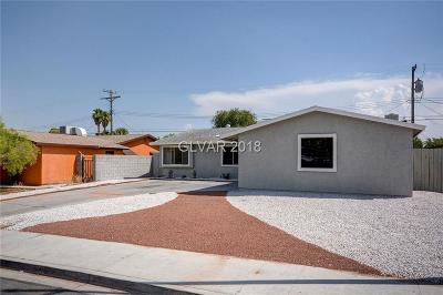 Las Vegas Single Family Home For Sale: 5905 Rae Drive