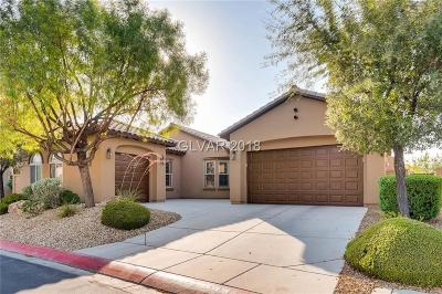 Las Vegas, North Las Vegas, Henderson Single Family Home For Sale: 3783 Specula Wing Drive