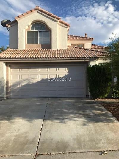 Las Vegas NV Single Family Home Under Contract - Show: $299,000