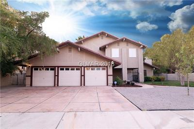 Las Vegas Single Family Home For Sale: 3355 Heavenly View Court