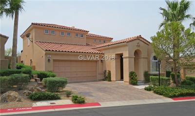 Las Vegas Single Family Home For Sale: 39 Avenza Drive