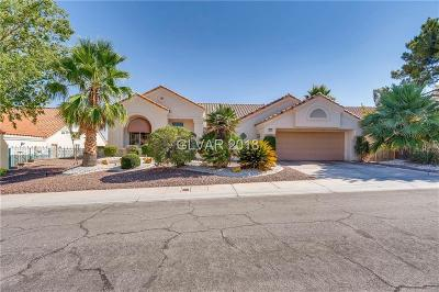 Las Vegas Single Family Home For Sale: 9613 Eagle Valley Drive