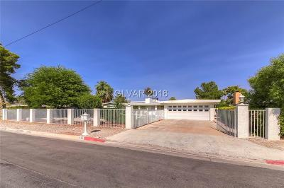 Las Vegas, North Las Vegas, Henderson Single Family Home For Sale: 639 Lacy Lane
