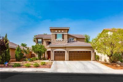 Las Vegas Single Family Home For Sale: 5820 Bluthe Bridge Avenue