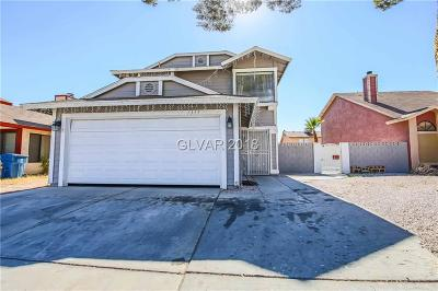 Las Vegas Single Family Home For Sale: 1315 Ebbetts Pass