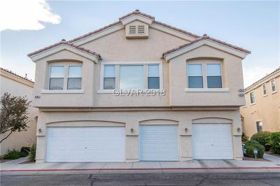 Henderson Condo/Townhouse For Sale: 1650 Clint Canyon Drive