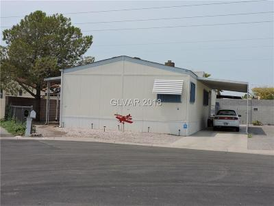 Las Vegas NV Manufactured Home Under Contract - No Show: $139,500