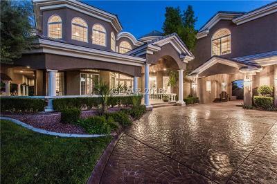 Las Vegas Single Family Home For Sale: 1660 Valadez Street