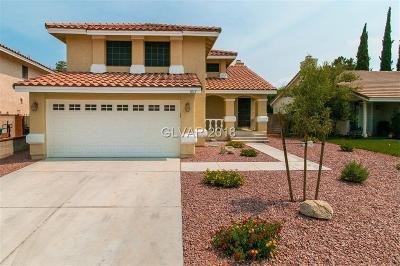 Las Vegas Single Family Home For Sale: 3012 Bodega Bay Street