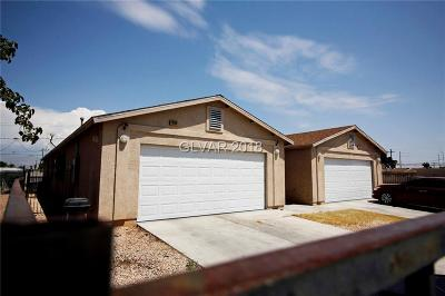 Las Vegas Multi Family Home For Sale: 1388 Hassell Avenue
