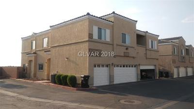 North Las Vegas Condo/Townhouse For Sale: 6332 Snap Ridge Street #1