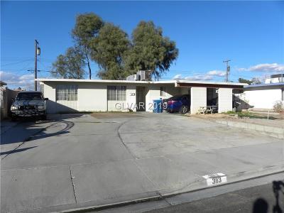 Las Vegas Single Family Home For Sale: 3113 Jansen Avenue